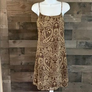 Paisley Slip Style Dress